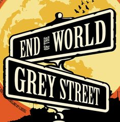 Grey Street Poster Dave Matthews Band by the912 on Etsy