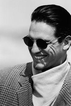 #Atribute to Frames: The Giorgio Armani 1993 eyewear campaign shot by Peter Lindbergh. See the dedicated article on Armani.com/Atribute