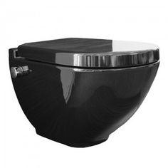 Toaleta myjąca czarna z czarną deską i mieszaczem w komplecie Harmony MA5202 Home And Living, Decorative Bowls, Tableware, Home Decor, Homemade Home Decor, Dinnerware, Dishes, Interior Design, Home Interiors
