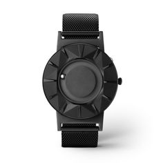 The Bradley Element features raised, beveled hour markers that allow you to feel the time by touch. #watches #design