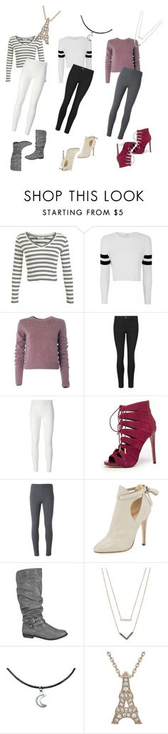 """everyday"" by keelin-hollabaugh on Polyvore featuring Miss Selfridge, Glamorous, Marc by Marc Jacobs, Indigo Collection, Rick Owens Lilies, Bebe, Ermanno Scervino, Jimmy Choo, maurices and Michael Kors"