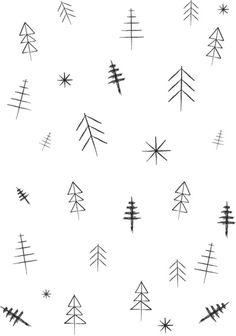 O Christmas tree[s] Art Print by Three Lives Left | Society6