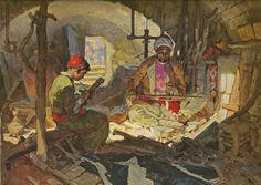 The Carpenter of Nazareth by Dean Cornwell