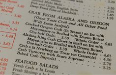 Alaskan King Crab went for $4.65 in the 1970s at  Bratten's Seafood Grotto. (Francisco Kjolseth  |  The Salt Lake Tribune)