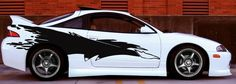 Mitsubishi Eclipse Fast and Furious Side Graphics - ztr graphicz