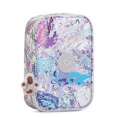 100 Pens Printed Case - Marble Multi | Kipling