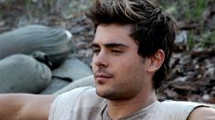 Screen cap of Zac from the BTS Video.