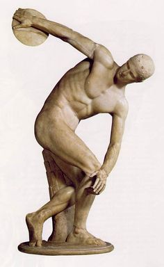 GREEK - DISCOBOLOS, 450 B.C.