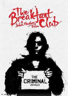 Judd Nelson as 'John Bender' in The Breakfast Club (1985)