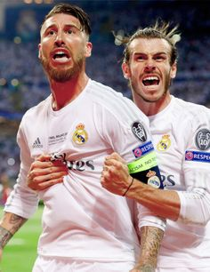 After Sergio scored the goal from Bale's assist