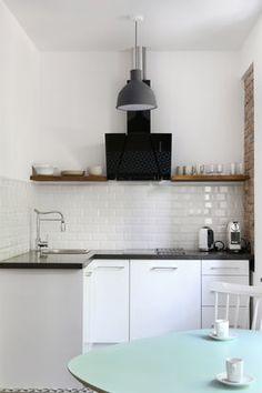 Aneks kuchenny bez górnych szafek