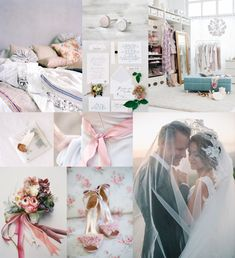 Ballet pink, wisteria, and dusty blue Wedding Images, Wedding Themes, Wedding Styles, Wedding Decorations, Wedding Ideas, Wedding Details, Wedding Night, Wedding Bells, Our Wedding