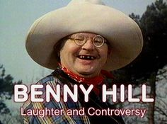 I use to laugh so hard watching Benny Hill classic english humor they don't make shows like this any Benny Hill, Good Old Times, The Good Old Days, Laura Lee, English Comedians, Tv Themes, British Comedy, Old Tv Shows, Stand Up Comedy