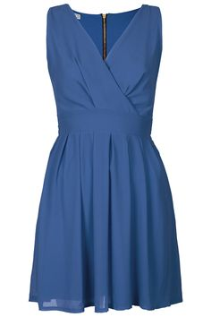 Cross bust dress by Wal G from Topshop. #bluebridesmaid #weddingstyle