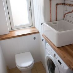 Space saving in bathroom bathroom sink over washing for Bathroom ideas belfast