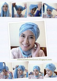 My Turban Tutorial for my casual day!! ;)