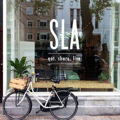 SLA Salad Bar Amsterdam ilovesla.com
