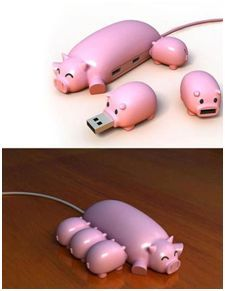 Here piggy, piggy. So cute!