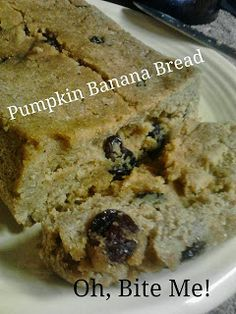 Drool.... #Coconut Flour #Pumpkin #Banana #Bread
