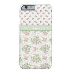 A light-weight and slim Case to personalize for your iPhone 6 smartphone, with pretty, mix''n'match nostalgic patterns of Pink Dog Roses. Part of the Posh & Painterly 'Rosy Posy' collection. (This pattern will fit all of the cases.) Up to $47.95 - http://www.zazzle.com/mixnmatch_dog_rose_florals_slim_iphone_6_case-256331507329932416?rf=238041988035411422&tc=pintw