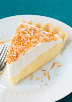 Coconut Cream Pie - Cooking Classy @Jaclyn {Cooking Classy}