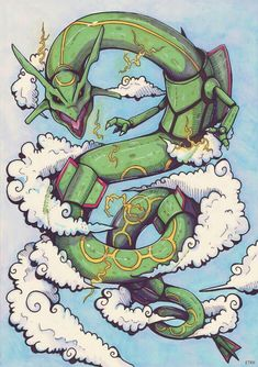 71c24506 Pokemon Rayquaza, Lugia, New Pokemon, Pokemon Fan Art, Pokemon Games,  Rayquaza