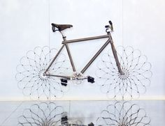 """Flowers for Spring!!      - For W Hotels' """"WOW Bikes,"""" Ron Arad designs a bespoke bicycle"""