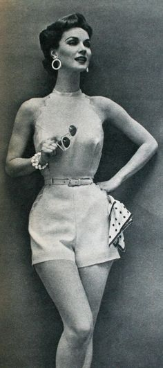Summer shorts, Regina Mode (Dutch) Spring/Summer 1956