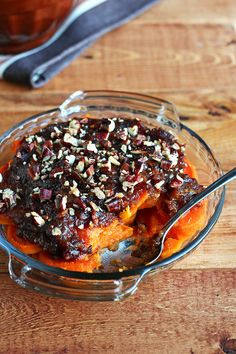 Date Candied Sweet Potato Casserole
