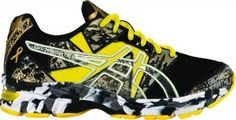 Pediatric cancer awareness shoe by asics