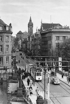 Konigsberg Eastern Germany. My father in laws family were from Koenigsberg. They came to Utah after joining the LDS church. After a WW-1 their business could not survive. After the fall of the city their remaining family were never heard from again