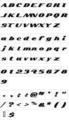 Kelvinized Font Character Map, Fonts, Designer Fonts, Font Downloads, Script Fonts, Writing Fonts