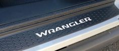 Premium Cast Vinyl Decals for Wrangler Door Sill Protectors Letter Decals, Vinyl Decals, Installation Instructions, To Color, It Cast, Doors, Slab Doors, Doorway, Gate