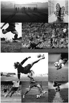 Soccer Collage Wall Mural, 4x6. #afflink