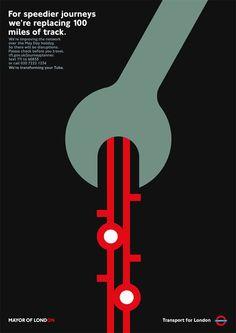 Transport for London poster