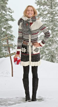 Holiday Outfit from Sundance --
