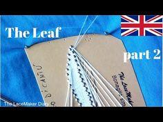 Bobbin Lace Tutorial | Cantù Leaf - Part 1 - YouTube