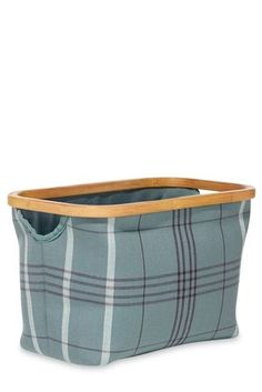 Buy Bamboo Rim Check Basket from the Next UK online shop