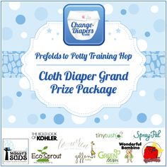 Prefolds to potty training grand prize #clothdiapers #giveaway via @chgdiapers (7/23) U.S. Only