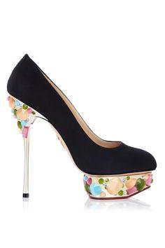 Zapatos de fiesta © Charlotte Olympia