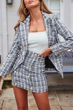 Women Skirt Summer Dresses Corduroy Dress Cheap Wedding Guest Dresses Clothes For Women Over 60 Pleated Midi Dress Looks Style, Looks Cool, Elegantes Business Outfit, Dress Clothes For Women, Fancy Clothes, Looks Vintage, Classy Outfits, Work Outfits, Fancy Casual Outfits