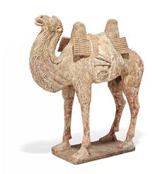 CAMEL WITH PACK SADDLE.