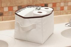 collapsable fabric storage totes