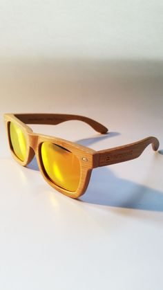 f73fe08de7 Orange Bamboos - Handmade sunglasses from pure bamboo that will make you  feel and look great