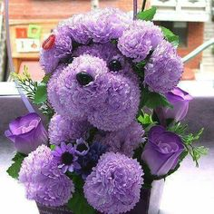 Flowers speak out the love for you. Now make your own DIY flower arrangement and woo people. Purple Love, Purple Hues, All Things Purple, Shades Of Purple, Purple Stuff, Deco Floral, Arte Floral, Diy Flowers, Beautiful Flowers
