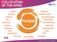 ' People ' COLLOCATION OF THE WEEK