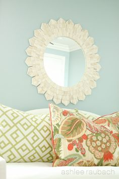 love this color scheme....BDG Style: Guest Room~San Clemente Project