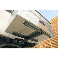 Dee Zee® Hitch-Style Mounting Kit for Storage Boxes - Tractor Supply Online Store.  Might need this for the Jeep, too.
