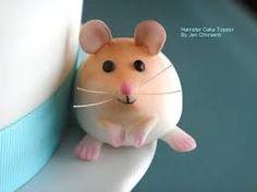 hamster cake topper - Google Search