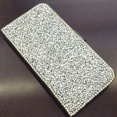 Samsung Galaxy Note 5 Silver Crystals Phone Case Beautiful! Phone case for Samsung Galaxy Note 5 , Pu leather and silver crystals! New! Accessories Phone Cases
